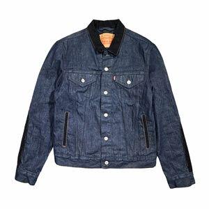 Levi's Sample Denim Jacket Flannel Elbow Patch
